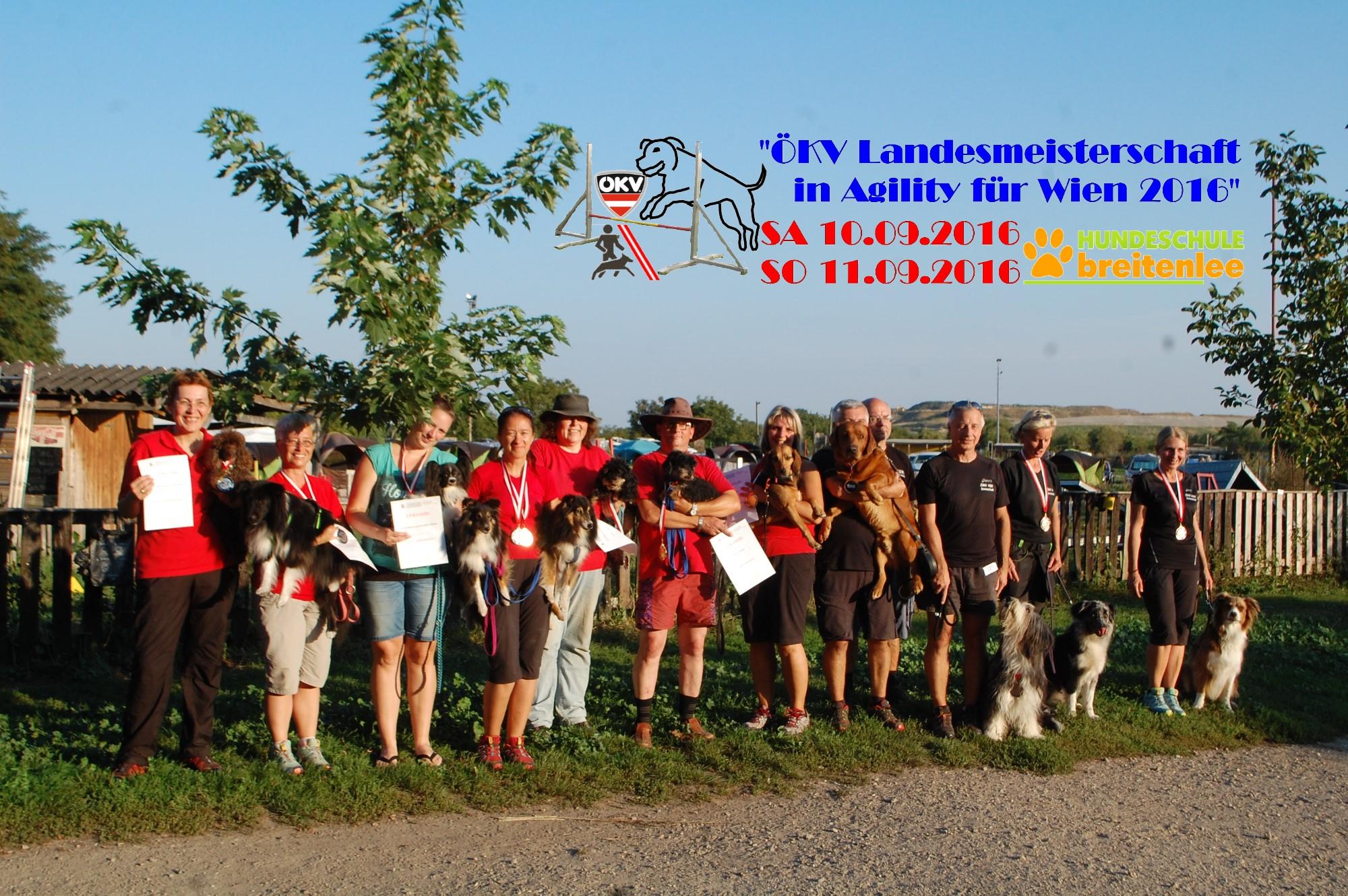 ÖKV Landesmeisterschaften Für Wien In Agility